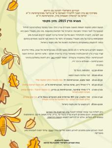 מזון מקומי - הפורום הישראלי לתזונה בת קיימא