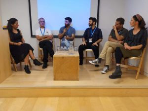 A panel about the food chain the Israeli Climate Conference